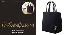 Japanese Magazine Appended Y S L Embroidered Tote Bag