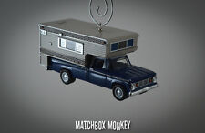 '67 Dodge D100 Camper Vintage Style Chevrolet Truck Ornament RV Pop up D-100