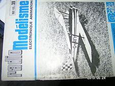 µµ Radio Modelisme n°39 Faire canot de sauvetage / Quille Tiger Moth