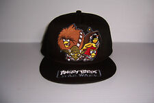 ANGRY BIRDS STAR WARS SNAPBACK HAT CAP ADJUSTABLE NWT!