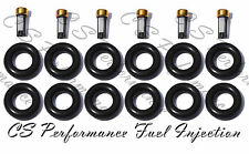 Fuel Injector Service Repair Rebuild Kit Orings Filter FORD 01-03 4.2L  CSKRP16