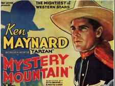 MYSTERY MOUNTAIN, 12 Chapter Serial, 1934