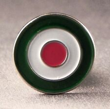 Metal Enamel Pin Badge Brooch RAF Italy Italian Air Force Roundal Circle Logo