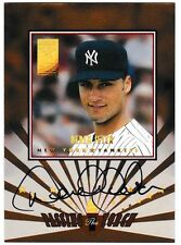 1997 Donruss Elite Passing The Torch Derek Jeter Auto Card /100 Nr Mt-Mt
