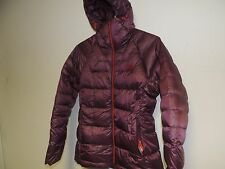North Face womens IMMACULATOR DOWN PARKA 800 count deep garnet red medium NWT