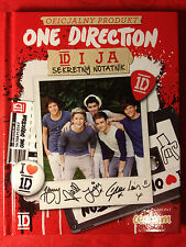 ONE DIRECTION 1D - SECRET DIARY - 52 STICKERS INSIDE - OFFICIAL PRODUCT