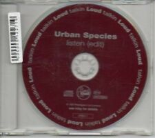 (AI524) Urban Species, Listen - 1994 DJ CD