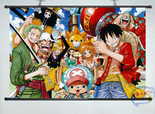 Home Decor Japan Anime Wall poster Scroll one piece whole role Cosplay