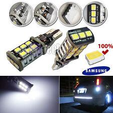 High Power Error Free T15 Samsung SMD LED Bulbs For Backup Reverse Light 921 T10