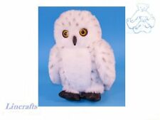 Snowy Owl Plush Soft Toy Bird by Dowman Soft Touch .RB65