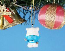 Decoration Xmas Ornament Home Party Decor Jakks Peyo Smurfs Village COOK Chef