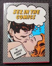 1985 SEX IN COMICS by Maurice Horn 1st Chelsea House HC/DJ VF+/FVF