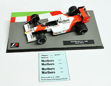 Ayrton Senna 1988 McLaren MP 4-4 Marlboro Decals 1:43 Formula 1 Car Collection