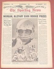 11-13-65 SPORTING NEWS NFL FOOTBALL ST. LOUIS CARDINALS CHARLIE JOHNSON ON COVER