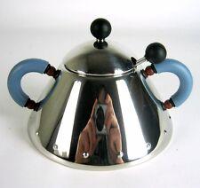 Alessi Edelstahl Zuckerdose Michael Graves Design Stainless Steel Sugar Pot