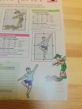 Archaeologist & Male Ballet Dancer Cross Stitch Charts By Jenny Barton & Snail