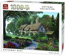 1000 Piece Cottage Collection Jigsaw Puzzle - HATHAWAY BEST IN FOREST 05374