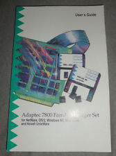 Adaptec 7800 Family manager set-user 's Guide