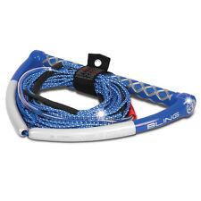 AIRHEAD Bling Spectra Wakeboard Rope - 75' 5-Section - BLUE AHWR-13BL NEW