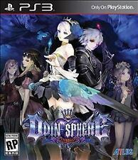 ODIN SPHERE LEIFTHRASIR PS3 RPG NEW VIDEO GAME