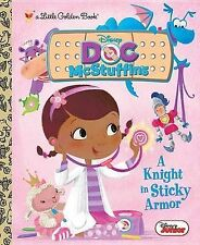 A Knight in Sticky Armor (Disney Junior: Doc McStuffins) (Little Golden Book) Po