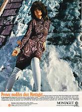 PUBLICITE ADVERTISING 014   1970   MONTAGUT   tricots