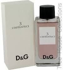 Treehouse: Dolce & Gabbana Anthology L'Imperatric 3 EDT Perfume For Women 100ml