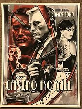 Robert Bruno Casino Royale Movie Art Print Poster Mondo James Bond Daniel Craig