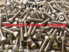 (50) 1/4-20x1 Socket Allen Head Cap Screw Stainless Steel 1/4 x 1""