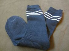 WWII GERMAN WOOL SOCKS-SIZE III OR FITS SIZE 9-12, FOR JACKBOOTS OR LOW BOOTS