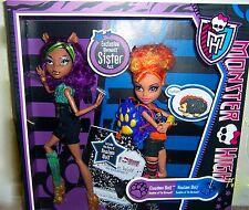 Monster High Clawdeen & Howleen  Wolf Ships international For $20.00 or less