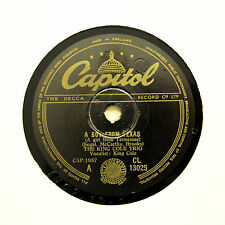 """THE KING COLE TRIO """"A Boy From Texas / Lost April"""" CAPITOL CL-13025 [78 RPM]"""