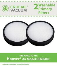 2 Hoover Air Model Washable Primary Filters Fit WindTunnel UH70400 # 303903001