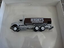 RARE NEW IN BOX WINROSS DIECAST HERSHEY'S DELIVERY TRUCK!! 1:64! BROWN/SILVER