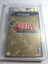 Zelda - Wind Waker For The Nintendo Gamecube New Sealed & VGA Graded 85+ Gold