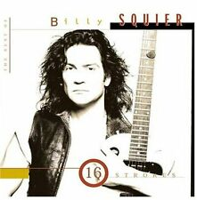 Best Of Billy Squier-16 Strokes - Billy Squier (1995, CD NEUF)
