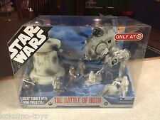 2007 Star Wars BATTLE OF HOTH Ultimate Battle Pack Target Only Figure Set MIB