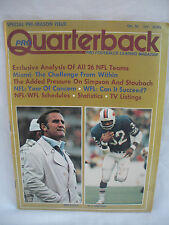 Pro Quarterback Magazine October 1974 Don Shula & O.J. Simpson