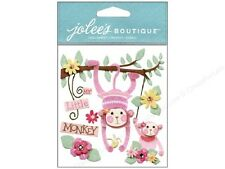Jolee's Boutique Stickers - Baby Girl My Little Monkey  #784