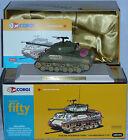 """Rare M4 A3E8 WWII Sherman """"Thunderbolt VII"""" Tank Corgi 50th ANNIVERSARY US51023"""