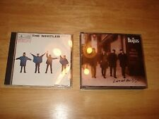 2 Beatles CDs Help! 1994 Live At The BBC 2x CD Mono Ticket To Ride Yesterday