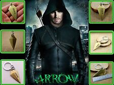 LLAVERO 6,5 CM GREEN ARROW COLOR BRONCE ENVEJECIDO DE LA SERIE ARROW