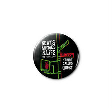 A Tribe Called Quest (b) 1.25in Pins Buttons Badge *BUY 2, GET 1 FREE*
