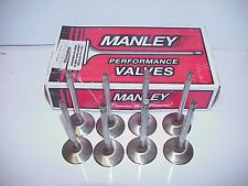 """8 Premium 11/32"""" Stainless Steel Intake Valves 2.02"""" x 5.340"""" Long Ford Chevy"""