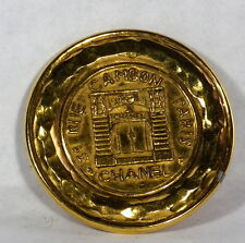 Auth Vintage Collectible 31 Rue Cambon France CHANEL 1150 Large Brooch Pin