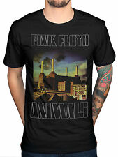Official Pink Floyd Animals Album Cover T-Shirt Rock Band Tour Merch