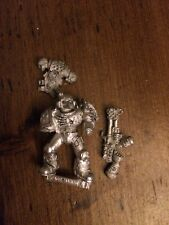 Damned Legionnaires With Flamer B2 Metal  Rare Legion Of The Damned  WH40k