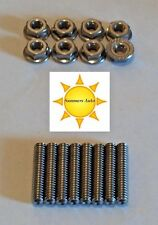 SBB Buick 215 300 340 350 STAINLESS STEEL VALVE COVER STUD KIT S/S Bolts