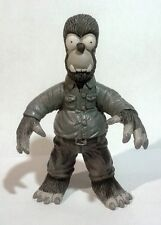 homer simpson parody Universal classic monster wolfman  mexican