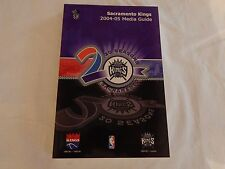 Sacramento Kings 2004-05 MEDIA GUIDE!! NEW! NEVER OPENED!!